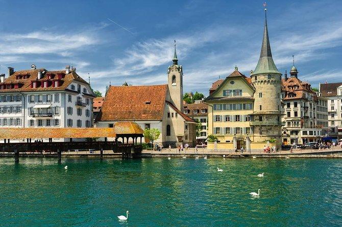 Excursion de 4 jours au départ de Lucerne à Zurich, comprenant le téléphérique du Mont Titlis