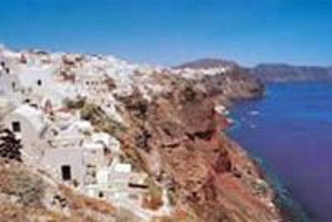 Santorini Island Independent Day Trip from Crete
