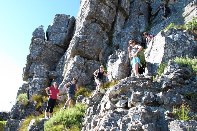 India Venster Route: Hiking in Table Mountain from Cape Town
