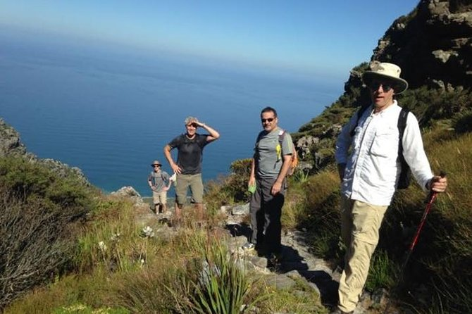 Table Mountain Private Hike Tour of Kasteelpoort Route from Cape Town