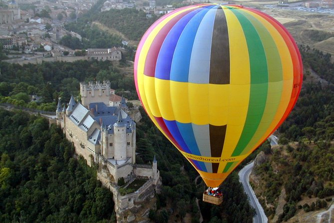 Private Balloon Ride for 2 in Segovia or Toledo with Optional Transportation from Madrid