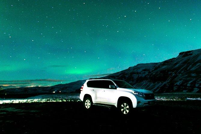 SUV privado Northern Lights Hunt de Reykjavik