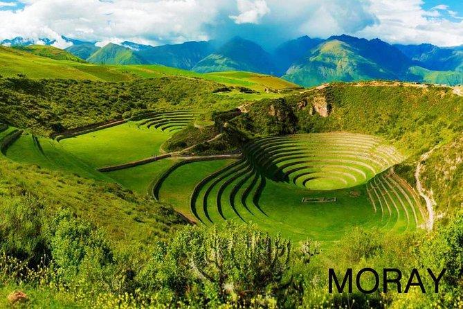 Maras, Moray, Salineras Salt Mines Tour from Cusco