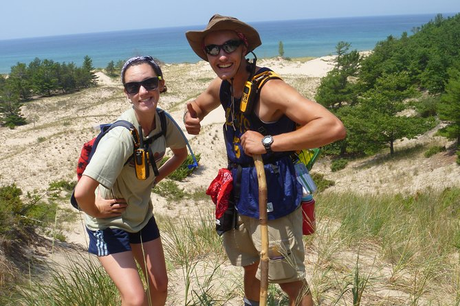 Some of our guides showing off the wilderness area