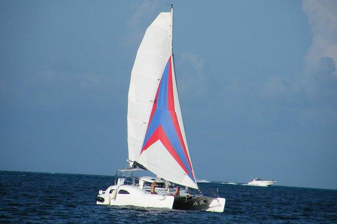 Private Half-Day Catamaran Cruise from Cancun