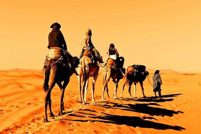 Fez through Merzouga Desert 4-Day Private Tour from Marrakech - All inclusive -