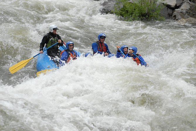 Family river rafting - South Fork American river