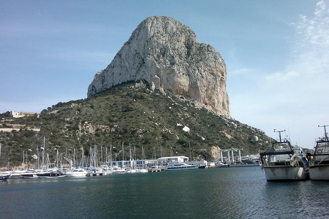 A Day at Sea in Calpe with BBQ on Board and Dinner at the Port