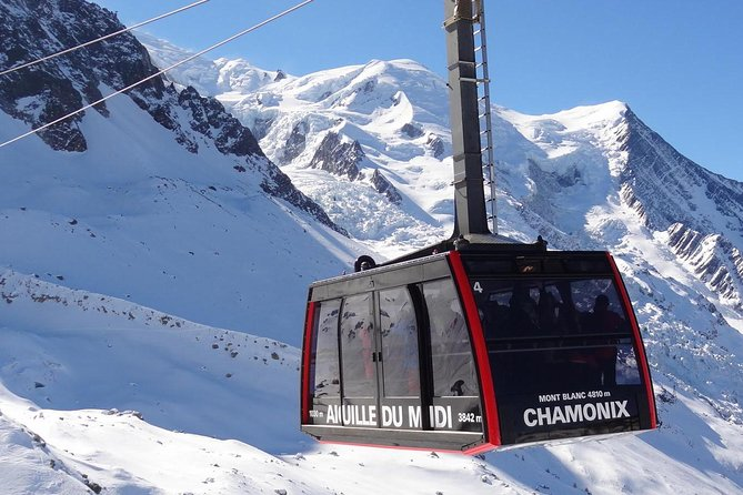 Independent tour with private Transport to Chamonix Mont Blanc