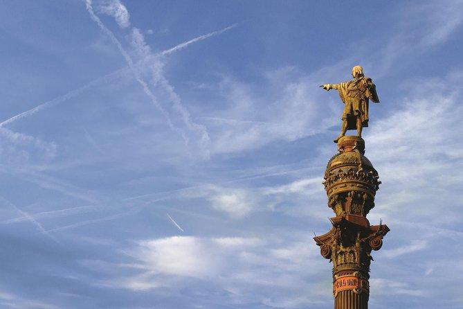 Columbus Monument in Barcelona