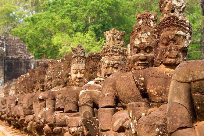 Recorrido privado de día completo: templos de Angkor Wat desde Siem Reap