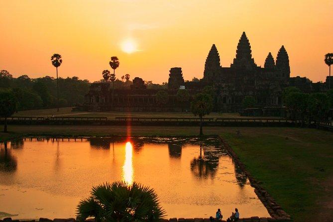 Crucero privado al atardecer en Angkor Thom
