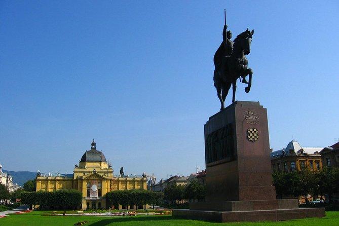 Full-day Private Zagreb Tour fra Split