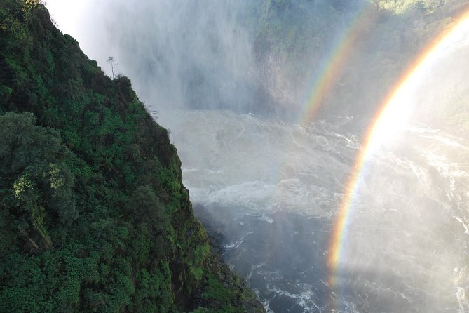 Double Rainball on the Victoria falls