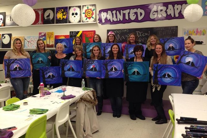 Paint and Sip Class photo 1