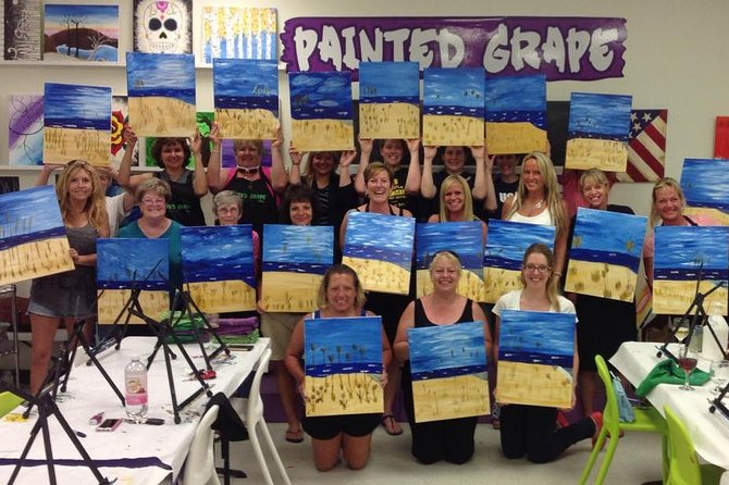 Paint and Sip Class photo 2