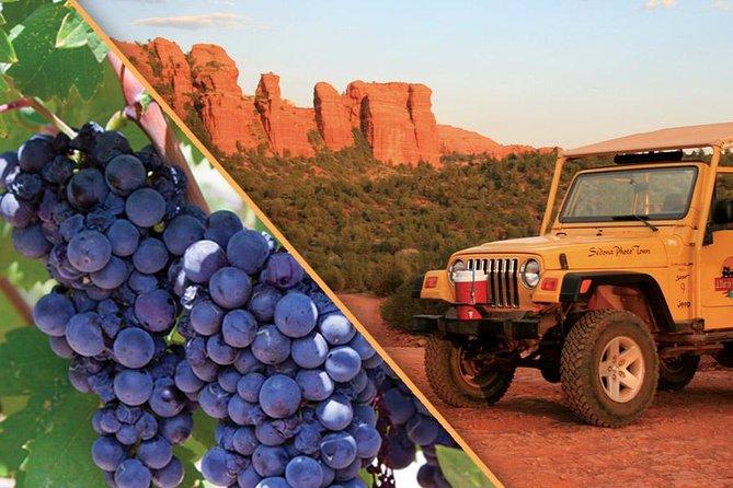 Sedona Jeep and Wine Tasting Combo Tour