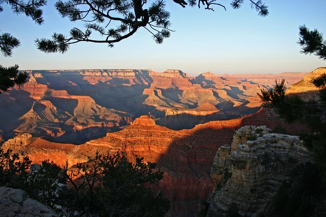 Sunset in the Grand Canyon from Sedona