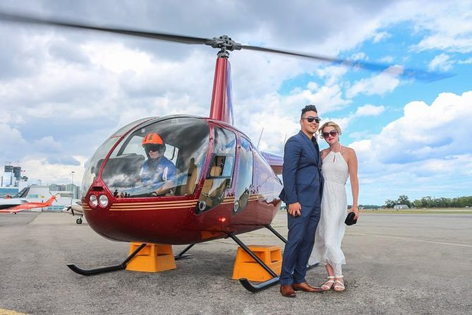 Romantic Jewel - Private Helicopter Tour for 2