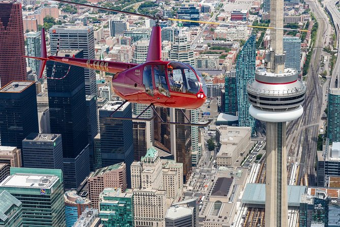 Helicopter tour over Toronto
