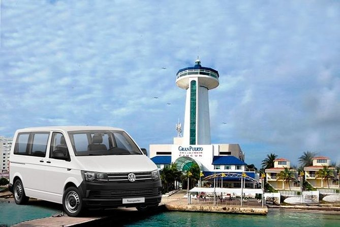 Round Trip Private Transfer From Cancun Airport To Isla Ferry Terminal