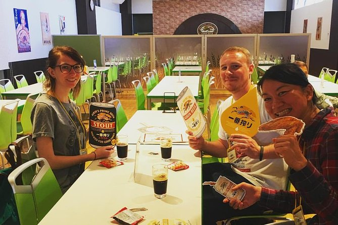 """Guided tour to Japanese Brewery """"Kirin Beer"""" in Nagoya (3hours)"""