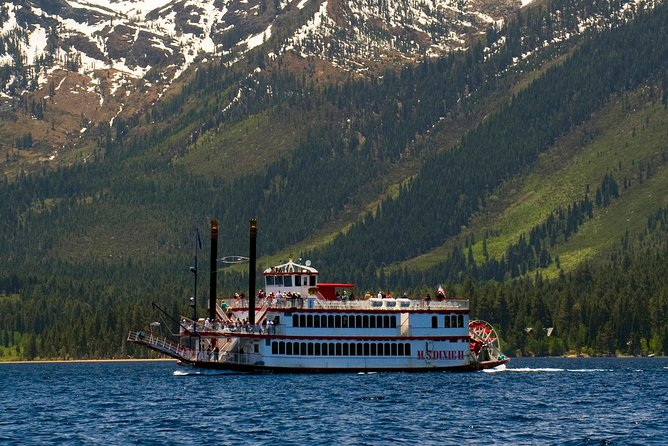 Emerald Bay Cruise in Lake Tahoe op MS Dixie II