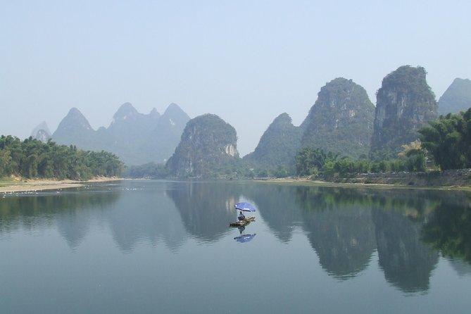 Tour privado de dois dias e 3 noites em Guilin-Yangshuo-Longsheng