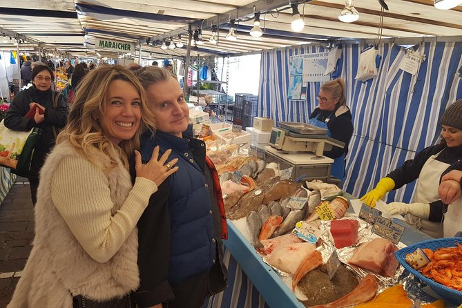 Visit a market and cook with a foodie