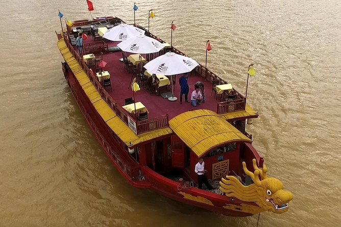 Emperor Dragon Boat on Huong river