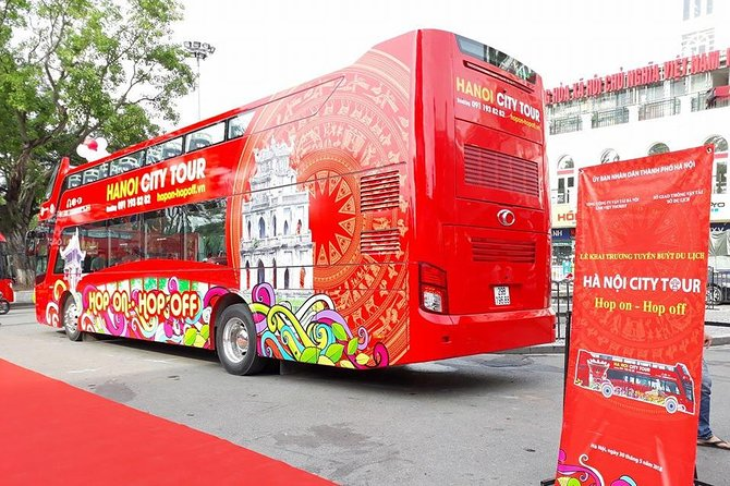 24H Hanoi HOP ON HOP OFF RED BUS TOUR