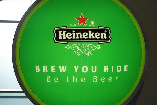 Passe diário para o barco com várias paradas em Amsterdã e para a Heineken Experience