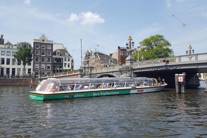 Exclusive TripAdvisor TripMaximizer Canal Cruise in Amsterdam