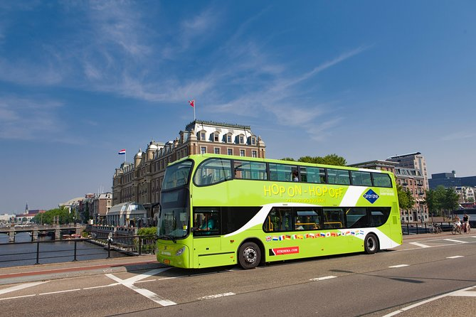 Hop-on Hop-off City Bus Amsterdam for 24 hours
