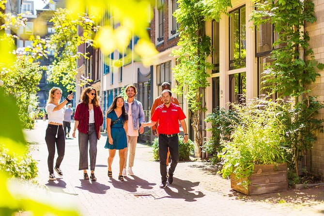 Excursão a pé em Amsterdã, incluindo petiscos alemães