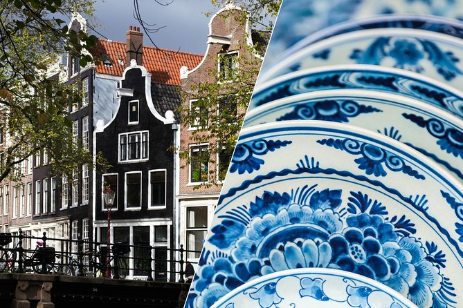 Guided Amsterdam City Tour + Delft,The Hague & Madurodam with Free 1-Hour Cruise