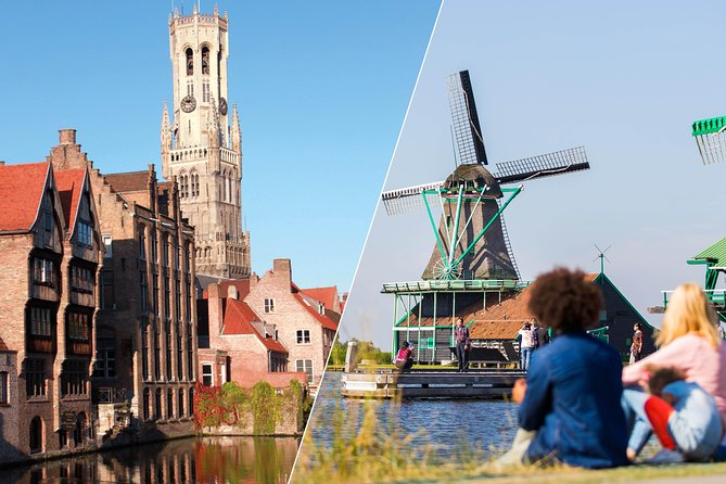 Amsterdam Super Saver: Bruges Full-Day & Countryside and Windmills Half-Day Tour photo 1