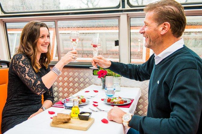 Amsterdam Croisière Dîner de la Saint-Valentin