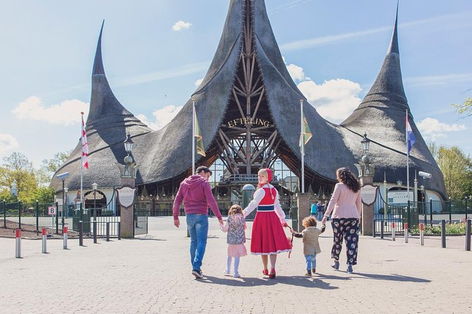 Efteling Theme Park Ticket & 1-Hour Amsterdam Canal Cruise