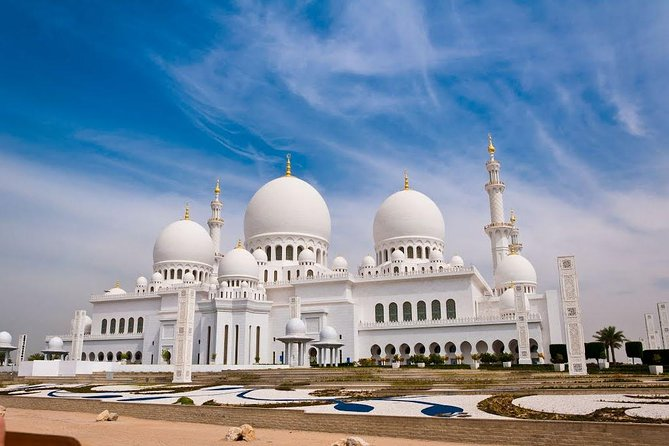 Abu Dhabi City Tour with Grand Mosque and Ferrari World from Dubai