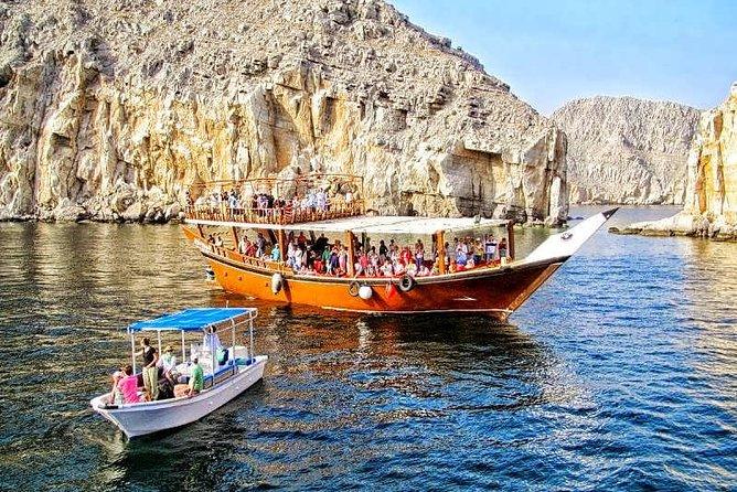 Musandam Dibba Cruise from Dubai