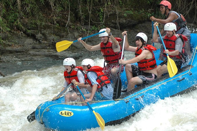 Naranjo River Rafting Class III IV - From Jaco
