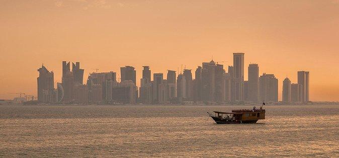 Sunset Dhow Cruise with Doha Corniche Walk
