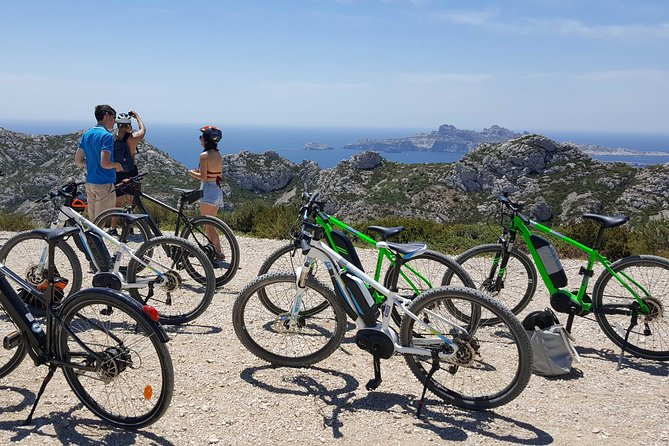 Electric Mountain Bike Rental in Marseille near Calanques