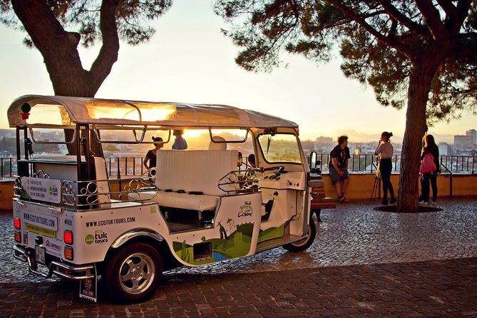 Lisbon: 1-Hour City Tour on a Private Tuk