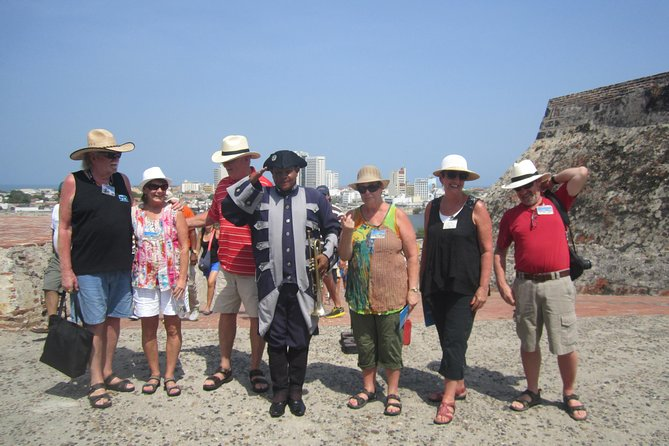 Private Cartagena City Tour on a very comfortable vehicule, French, Italian,