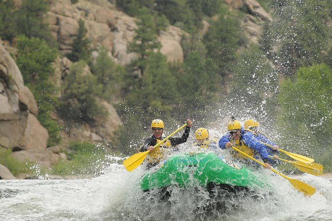 Rafting through Browns Canyon National Monument