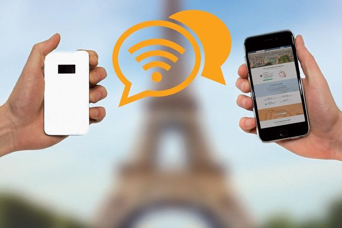 4G Pocket WiFi in Cologne: Mobile Hotspot for 3 Days or More