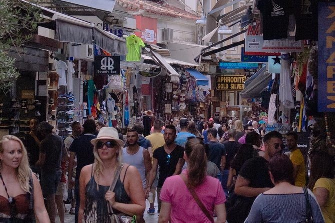 Shopping in Athens Small Group Walking Tour