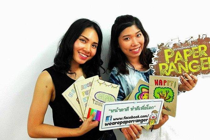 Bangkok Art Workshop: Stellen Sie ein Notizbuch aus recyceltem Papier her